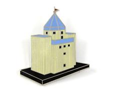 """Vintage ACME """"TEATRO DEL MONDO"""" Brooch by Architect Aldo Rossi NEW"""