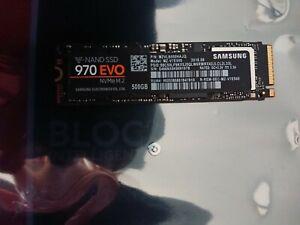 Ssd nvme m2 Samsung 970 evo 500go