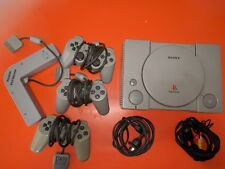 ps1 console and multitap + 3 controllers