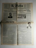 N443 La Une Du Journal Le Matin 13 août 1907 le supplice de la boue