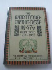 Regimentsgeschichte Regimental History - Wurt Infantry Regiment 476 1