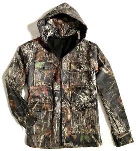 MENS WATERPROOF HUNTERS TREE CAMO COAT fleece inner stealth camouflage jacket