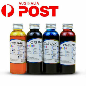 1set 100ML 4colors Edible Ink For Cake Printing Coffee Food Colouring Canon