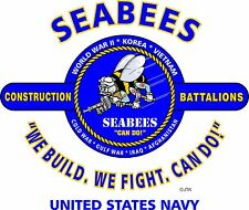 U.S.NAVY SEABEES & OPERATION DESERT STORM VETERAN  2-SIDED SHIRT