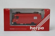 Herpa 4086 Mercedes Van Feuerwehr Fire Vehicle LHD 1/87 Scale Plastic W10
