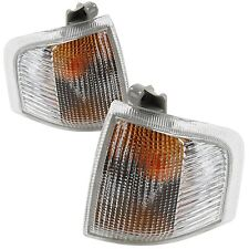For Ford Escort MK4 Incl. Van 86 - 90 Front Indicators Clear 1 Pair O/S And N/S