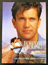 Forever Young - Mel Gibson & Jamie Lee Curtis - Film Presseheft (Y-7128+