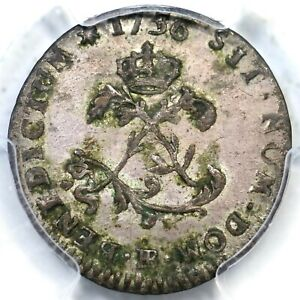 1756/46-BB V-269b PCGS AU 55 No Stop before Sit Sou Marquee Colonial Coin