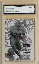 1994 Playoff Emmitt Smith  NNO Ground Attack Graded GMA 9 MINT