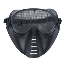 Mask Airsoft protective mask Paintball Black New TS