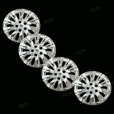 """New Wheel Covers Hubcaps Fits 2010 2012 Toyota Camry Style 16"""" Chrome Set of 4"""