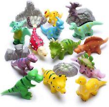 Baby Bath Toys Dinosaur 16 Pcs Water Squirter Mold Free Smooth Edge Lightweight