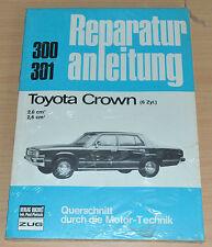 TOYOTA Crown 6Zyl 2,0l 2,6l Motor Buch  Handbuch Buchel Reparaturanleitung  B300