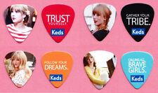 Taylor Swift Keds 4 Guitar Pick Set - 2013