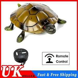 Lifelike High Simulation Animal tortoise Infrared Remote Control Kids Toy Gift C