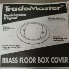 LEGRAND - PASS & SEYMOUR #TM1542-TRCFBrass Floor Box Cover. 2 available