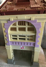 VINTAGE GHOSTBUSTERS FIREHOUSE LOT  WITH ECTO-1 KENNER 1980's