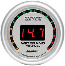 "AUTOMETER Ultra Lite ""Street"" Wideband O2 Air Fuel Ratio Gauge 2 1/16"" (52mm)"