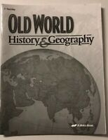 Abeka 5th Grade: Old World History & Geography Test Key