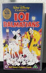 Walt Disney 101 Dalmatians VHS PAL Classic