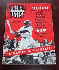 Baseball Digest April 1959  Ernie Banks