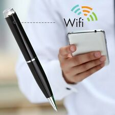 Updated HD 1080P Silver Spy Pen DV Camera WIFI Hidden Home Surveil Built in 32GB