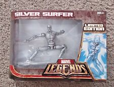 "MARVEL LEGENDS SILVER SURFER LIMITED EDITION 6"" INCH HASBRO RARE FANTASTIC 4"