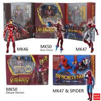 S.H. Figuarts SHF Iron Man Mark 50 Mark46 Mark 47 Tony Stark Action Figure MK50