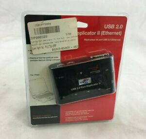 NEW SEALED TOSHIBA USB 2.0 Port Replicator II 4 x 2.0 Port Ethernet 41A94. P647