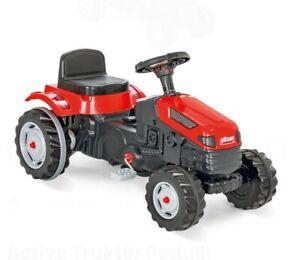 Trettraktor, Kindertraktor mit Anhängerkupplung, Traktor Trettauto