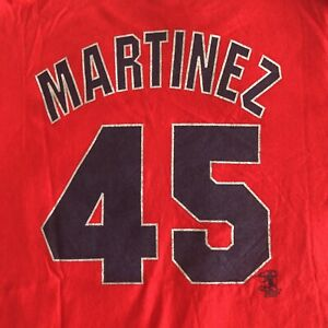 Vintage 1999 All Star Game Pedro Martinez #45 Majestic T-Shirt XL Jersey Shirsey