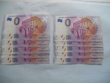 0 Euro  Schein BRD  2020-1 Leimener Weinkerwe 10 Pack 000001 - 000010 NEU