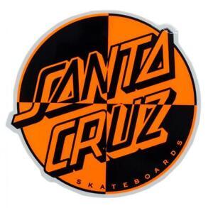 SANTA CRUZ Crash Dot Skateboard Sticker - 10cm wide