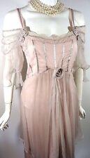 NATAYA Pink Formal Victorian Bridal Dress Romantic M Gatsby Wedding Party Prom