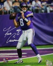 Kirk Cousins Autographed/Signed Minnesota Vikings 16x20 Photo BAS 29059
