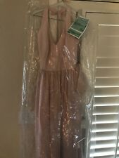 Vera Wang White bridesmaid dress - Size 10 Blush