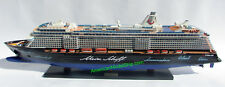 "Mein Schiff 5 TUI Cruises Ship Model 39"" Scale 1:300 - Handcrafted Wooden NEWS"