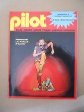 PILOT Rivista Fumetti n°10 1982 Christin Bilal - Ribera Lauzier   [D9]