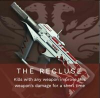 Destiny 2 THE RECLUSE SMG GUARANTEED WEAPON -24 HOUR- COMPLETION PS4/PC (Sale)