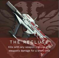 Destiny 2 Shadowkeep THE RECLUSE  GUARANTEED    NEW META PVE   PS4-