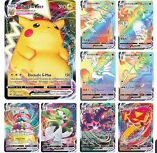 🎅Lot de 30 cartes Pokémon Française Brillantes (20V+10Vmax)🎅