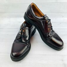 Johnston   Murphy Passport  Mens Oxford Shoes Burgundy Leather Lace Size 10M