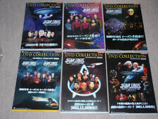 STAR TREK TNG The Next Generation Japan DVD promo flyer poster SET Season 2-7