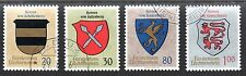 Liechtenstein 1965 Coats of arms Mi. 450-53 FU