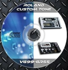 3.056 Patches ROLAND GR-55 VG-99 Multi Effects Processor. Custom Tone