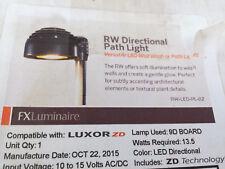 FX Luminaire RW Directional Path Light RW-ZD9LED-18R-BZ
