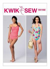 Kwik Sew SEWING PATTERN K4182 Misses Tankini & Halter Swimsuit XS-XL