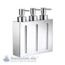 smedbo Outline brillant pied - Distributeur 3-fach Triple Porte-savon fk259