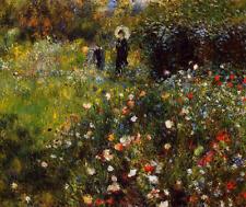 Summer Landscape by Pierre-Auguste Renoir Giclee Fine Art Print on Canvas