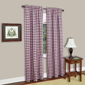 Achim Importing Co. Buffalo Check Window Curtain Panel-42x95